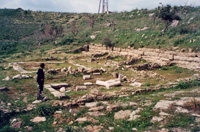 The ruins of Finiq (Photo: Robert Elsie, May 2000)