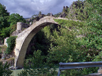 The Ottoman bridge at Konitsa (Photo: Robert Elsie, May 2007)