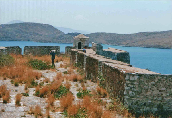 Porto Palermo, Fortress of Ali Pasha (Photo: Robert Elsie, June 2001)