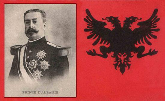 1913 Franz Baron Nopcsa Der Albaner Kongress Von Triest